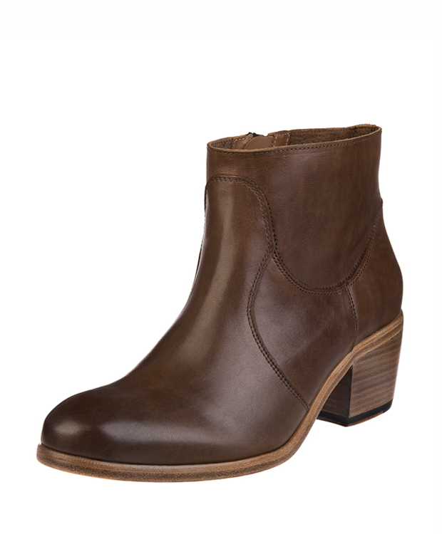 ZEHA BERLIN Urban Classics Ankle boot horse leather women light brown