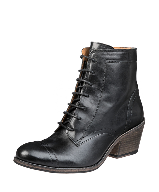 ZEHA BERLIN Urban Classics Ankle boot calf leather women black