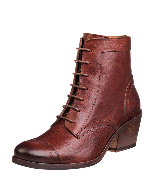 ZEHA BERLIN Urban Classics ankle boot Calf leather women cognac