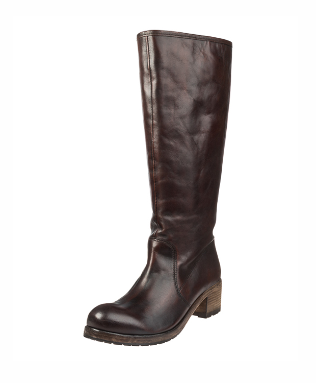 ZEHA BERLIN Urban Classics Boot calf leather women redbrown