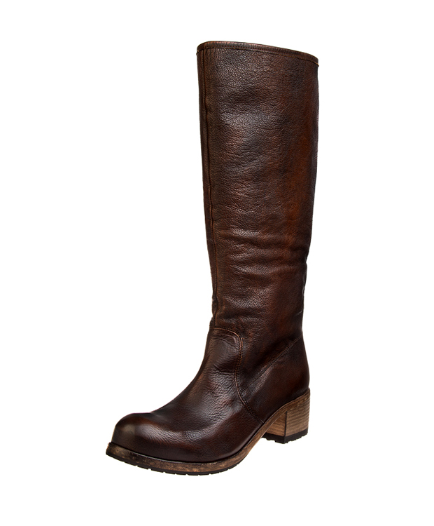ZEHA BERLIN Urban Classics Women Boot calf leather women dark cognac