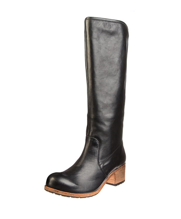 ZEHA BERLIN Boot Horse leather Unisex black