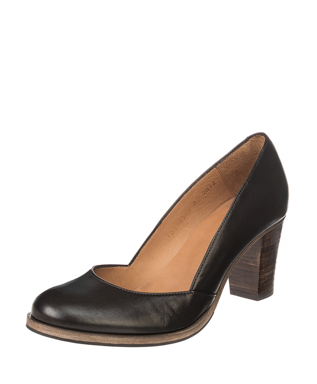 ZEHA BERLIN Urban Classics Women Pumps goat leather women dark brown