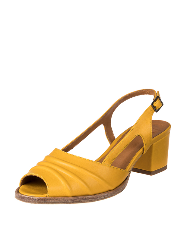 ZEHA BERLIN Urban Classics Women Pumps calf leather women yellow