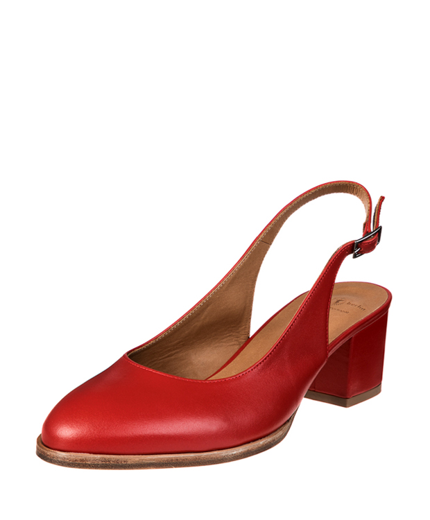 ZEHA BERLIN Urban Classics Women Pumps calf leather women red