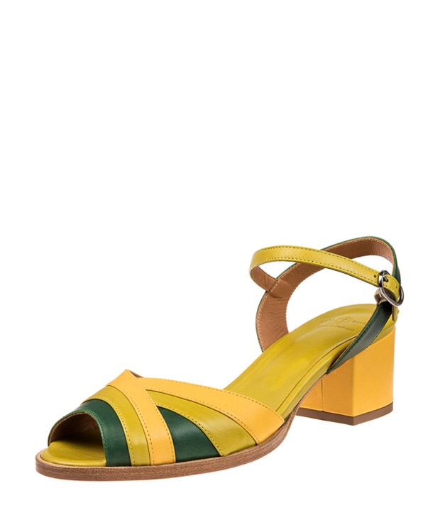 ZEHA BERLIN Urban Classics Pumps calf leather women green
