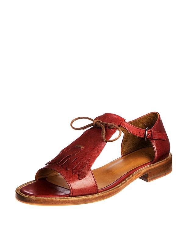 ZEHA BERLIN Urban Classics Women Sandals goat leather women red