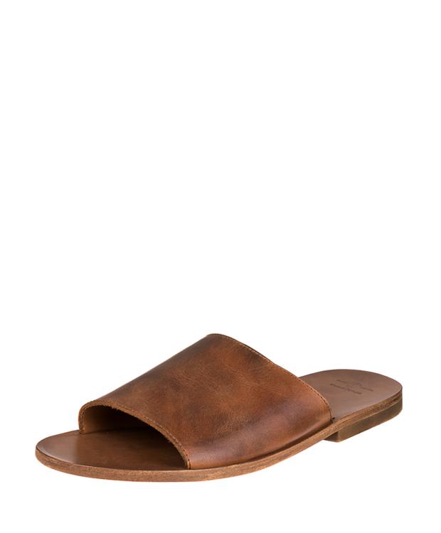 ZEHA BERLIN Urban Classics Men Sandals cow hide leather Men cognac