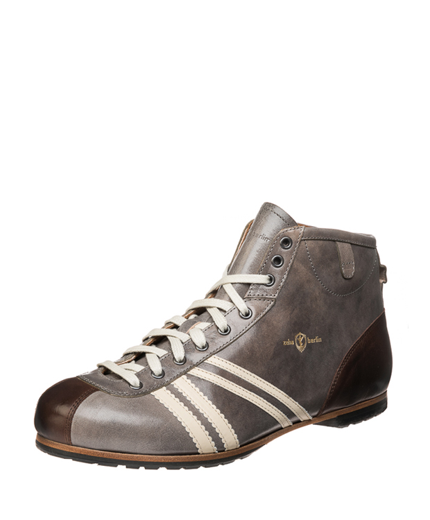 ZEHA BERLIN Carl Häßner Derby cow leather, flank Unisex grey / cream / brown