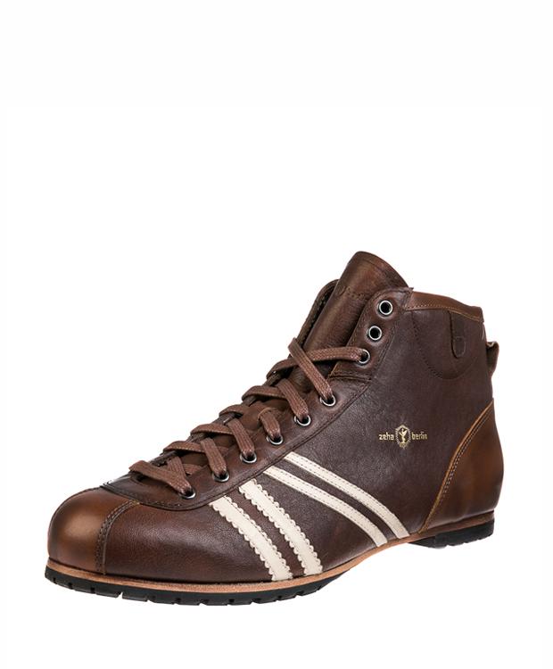 ZEHA BERLIN Carl Häßner Derby claf leather Unisex brown / cream / cognac