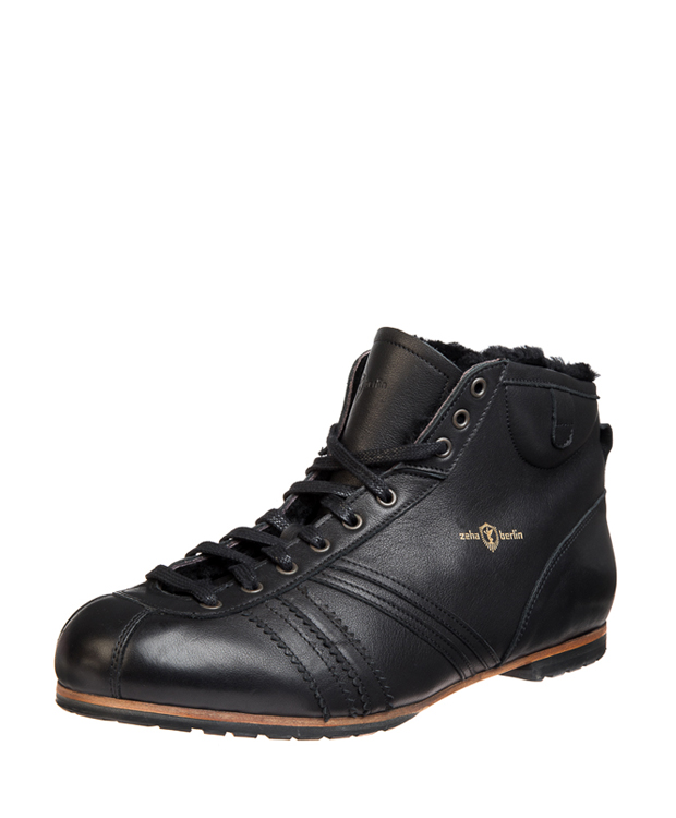 ZEHA BERLIN Carl Häßner Derby calf leather Unisex black