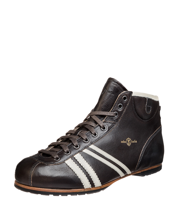 ZEHA BERLIN Carl Häßner Derby calf leather Unisex dark grey