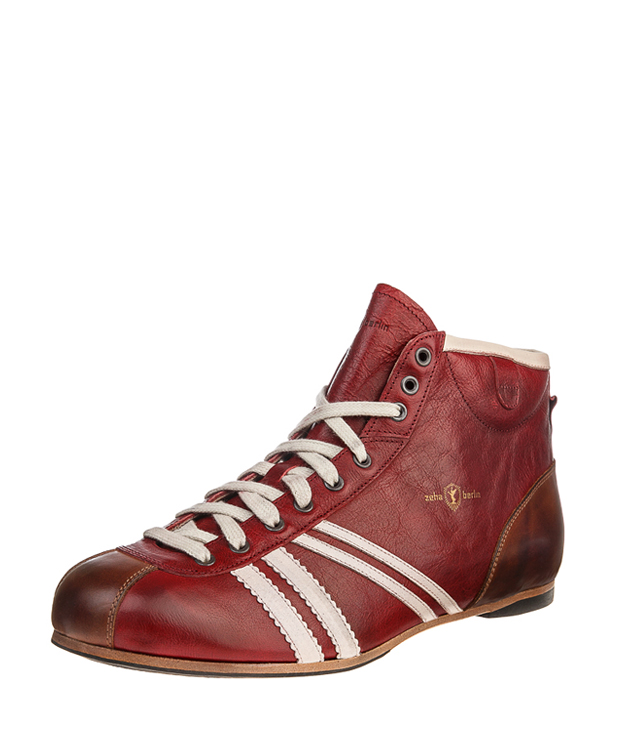 ZEHA BERLIN Carl Häßner Derby buffalo leather Unisex bordeaux / cream / cognac