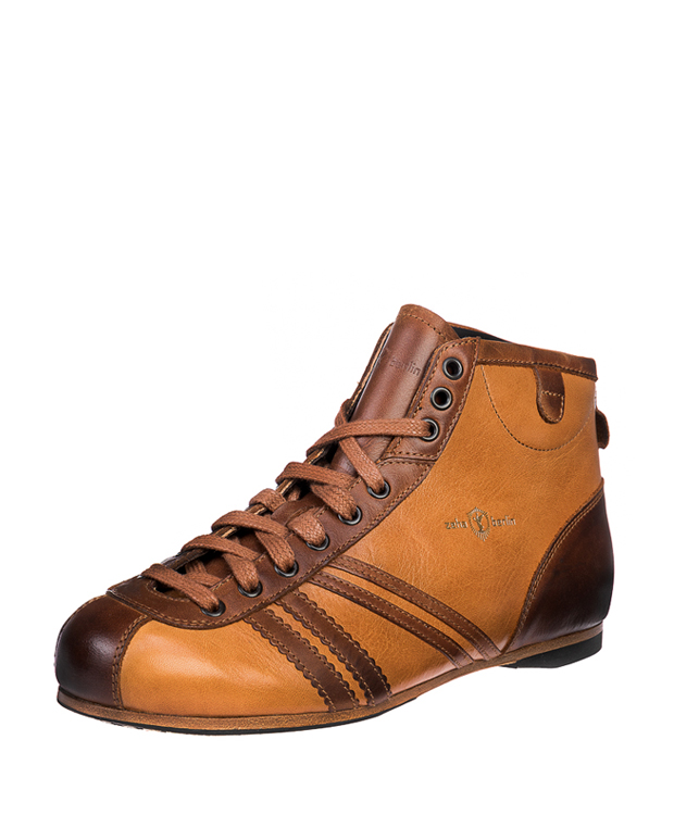 ZEHA BERLIN Carl Häßner Derby cow leather, flank Unisex cognac / light brown