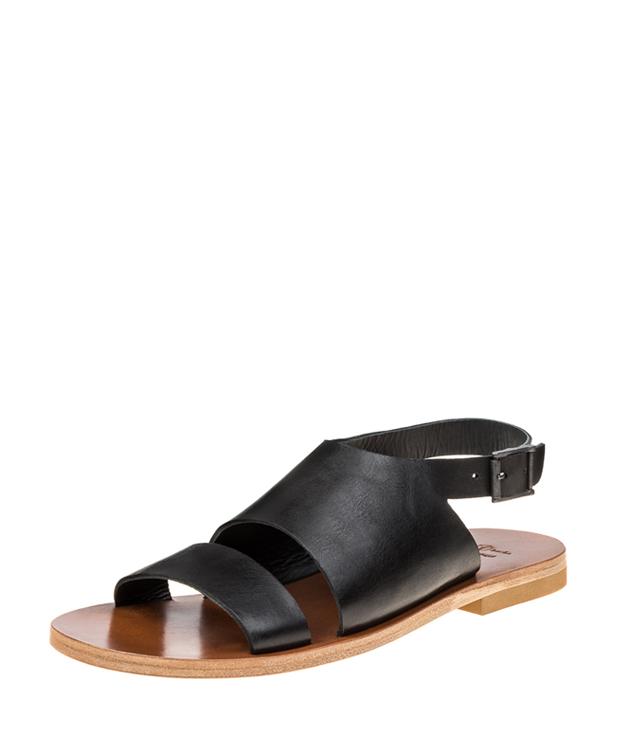 ZEHA BERLIN Urban Classics Sandals cow hide leather men black