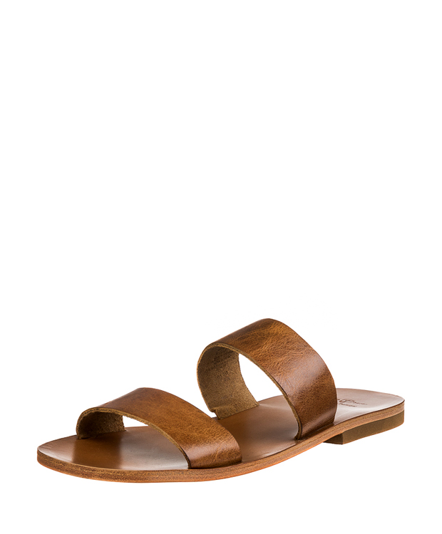 ZEHA BERLIN Urban Classics Men Sandals cow hide leather Men cognac