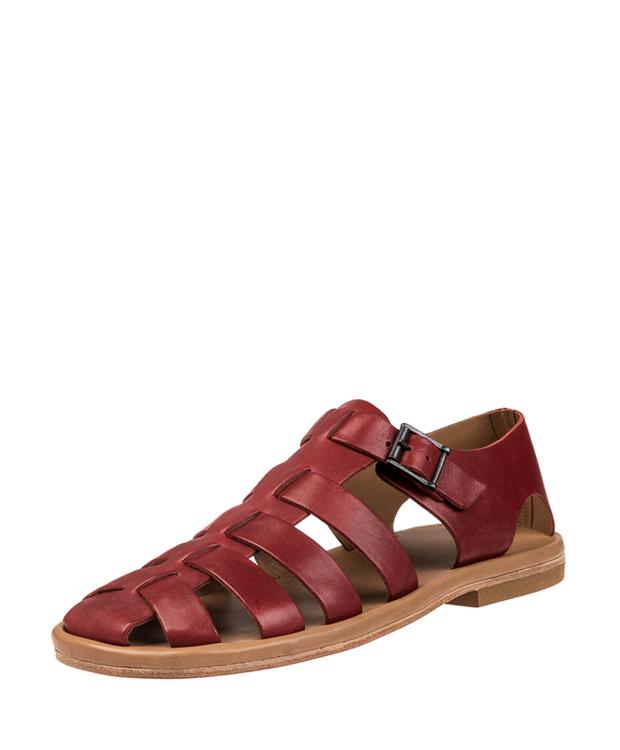 ZEHA BERLIN Urban Classics Sandals calf leather men bordeaux