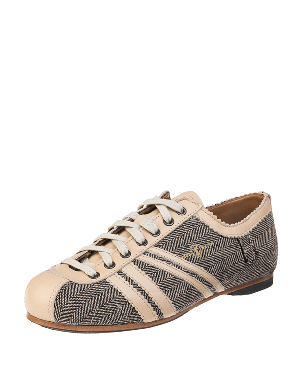ZEHA BERLIN Carl Häßner Club Mixed fabric Unisex cream-brown / cream