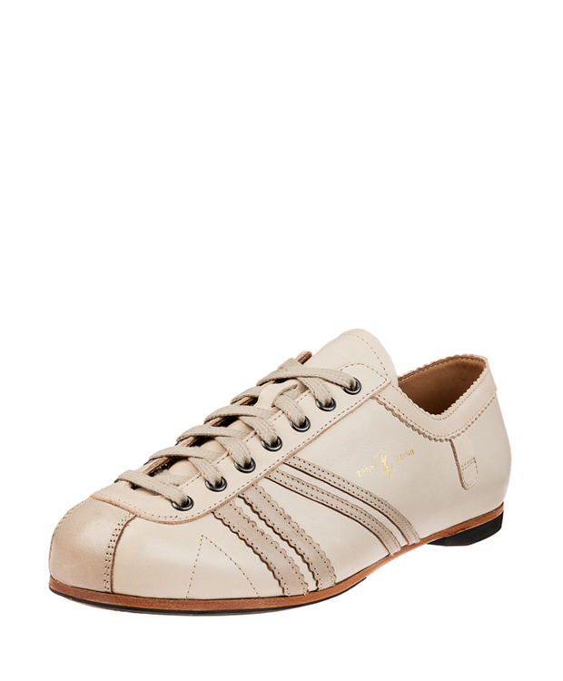 ZEHA BERLIN Carl Häßner Club calf leather Unisex beige / light braun / beige