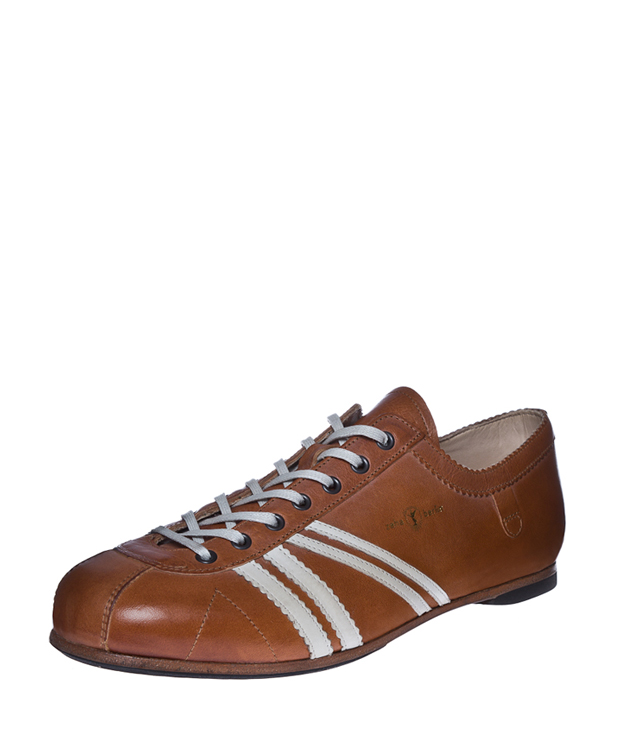 ZEHA BERLIN Carl Häßner Club calf leather Unisex cognac / cream