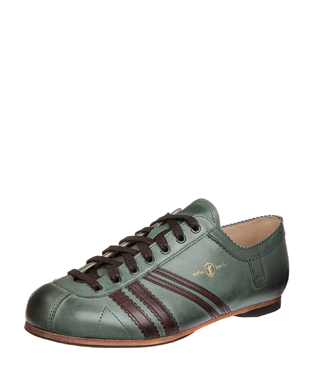 ZEHA BERLIN Carl Häßner Club calf leather Unisex grey blue / brown