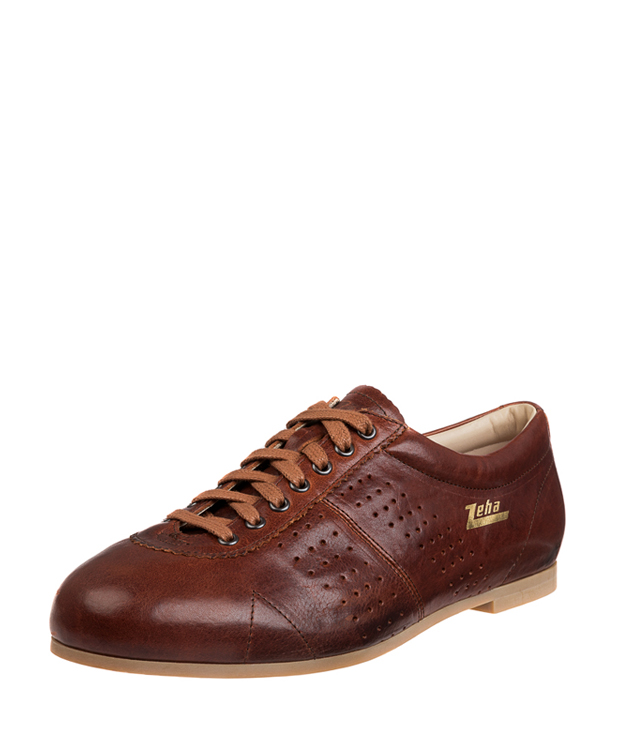 ZEHA BERLIN Streetwear Favorit - cycling shoe calf leather Unisex cognac