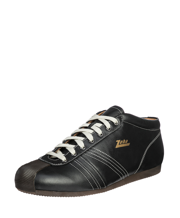 ZEHA BERLIN Champion calf leather Unisex black