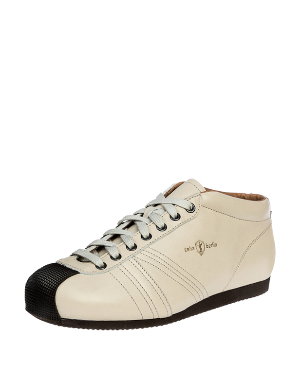 ZEHA BERLIN Champion calf leather Unisex cream