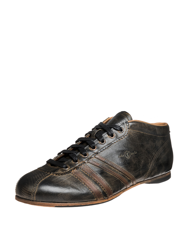 ZEHA BERLIN Carl Häßner Liverpool calf leather Unisex black / cognac