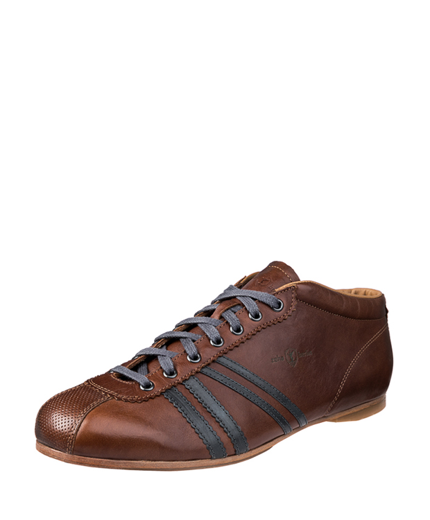 ZEHA BERLIN Carl Häßner Liverpool calf leather Unisex cognac / grey