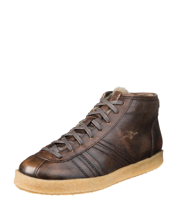 ZEHA BERLIN Trainer Trainer high calf leather Unisex cognac uni