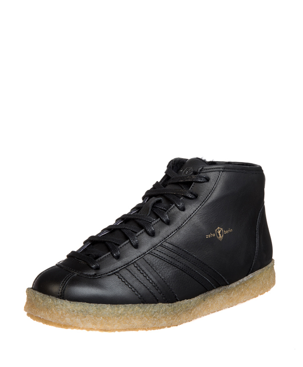 ZEHA BERLIN Trainer Trainer high calf leather Unisex black