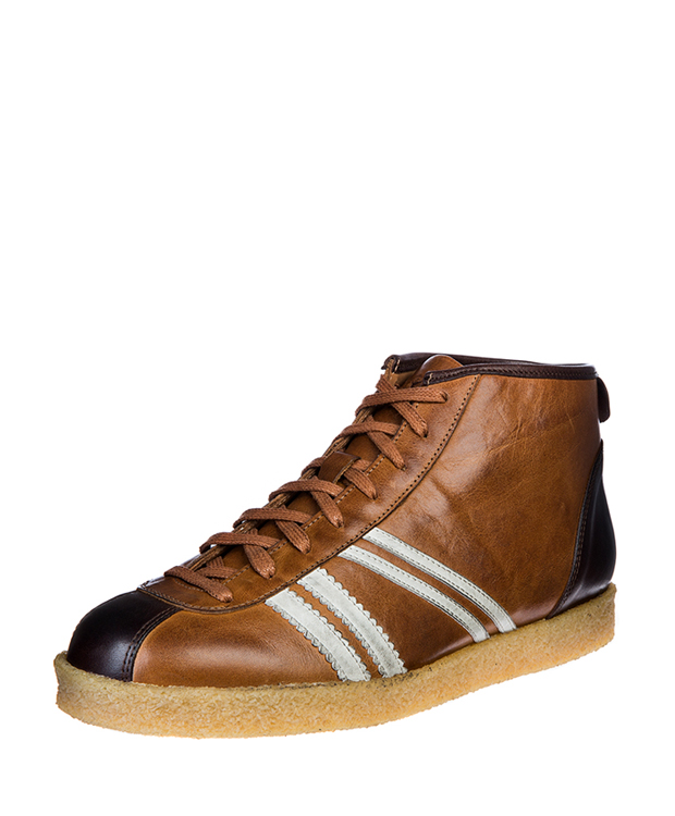 ZEHA BERLIN Trainer Trainer high cow hide leather Unisex cognac / cream / brown