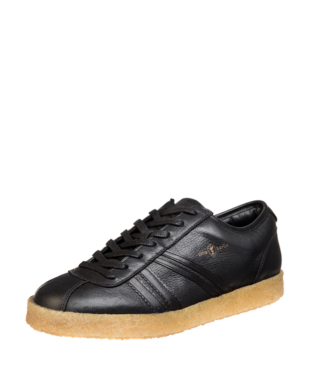 ZEHA BERLIN Trainer Trainer low calf leather Unisex black