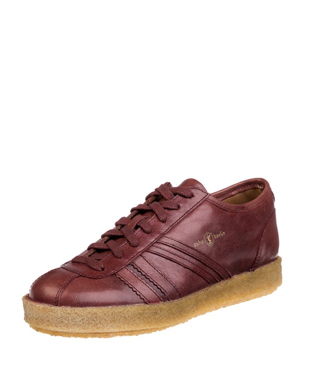 ZEHA BERLIN Trainer Trainer low cow leather, flank Unisex bordeaux