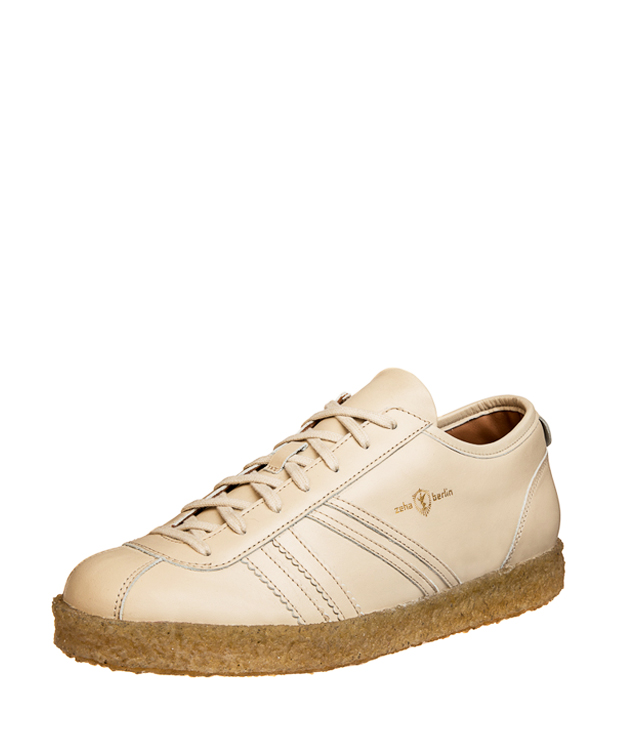 ZEHA BERLIN Trainer Trainer low calf leather Unisex cream