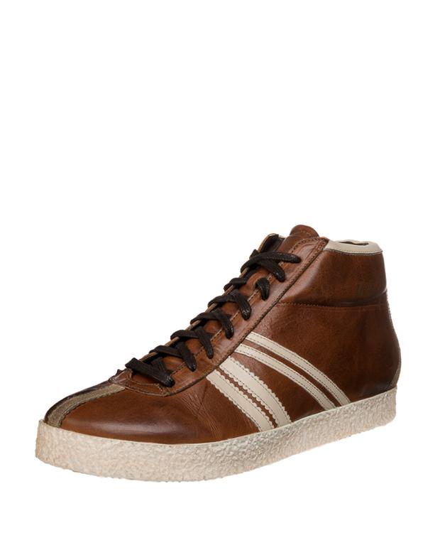 ZEHA BERLIN Streetwear Rodler Calf leather Unisex cognac / cream