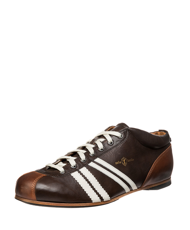 ZEHA BERLIN Carl Häßner Liga calf leather Unisex brown / cream / cognac