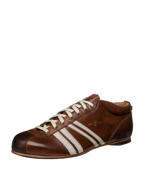 ZEHA BERLIN Carl Häßner Liga calf leather Unisex cognac / cream / brown