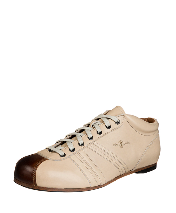 ZEHA BERLIN Carl Häßner Liga calf leather Unisex cream / cognac