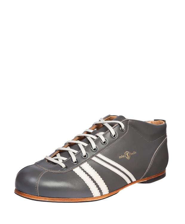ZEHA BERLIN Carl Häßner Liga calf leather Unisex grey / cream