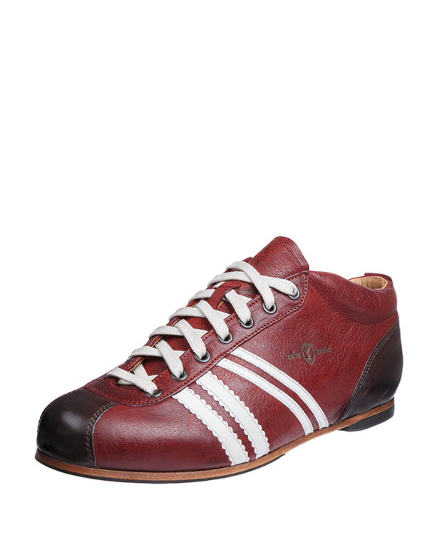 ZEHA BERLIN Carl Häßner Liga goat leather Unisex boredeaux / cream / brown