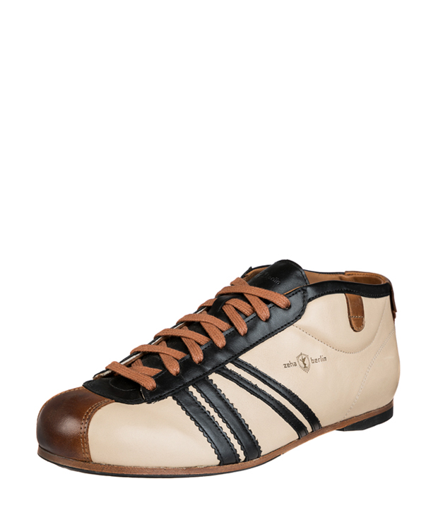 ZEHA BERLIN Carl Häßner Libero calf leather Unisex cream / black / cognac