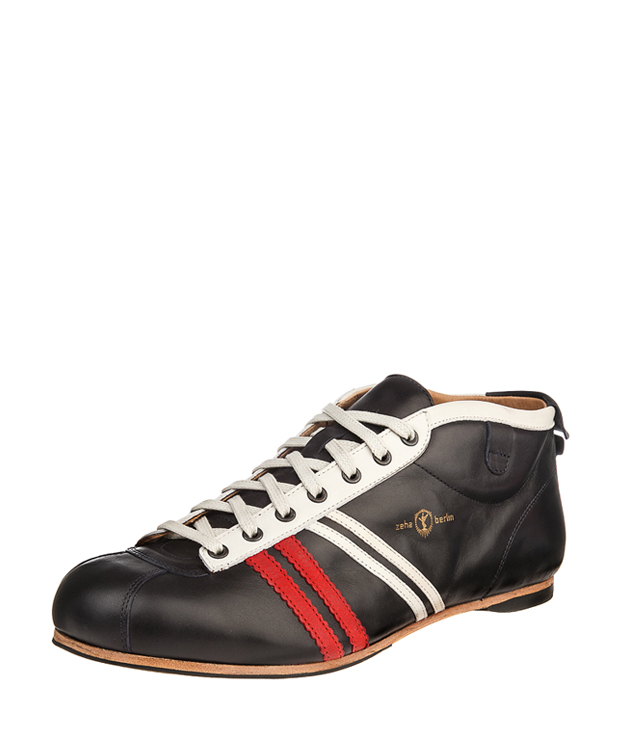 ZEHA BERLIN Carl Häßner Libero calf leather Unisex dark blue / red / cream