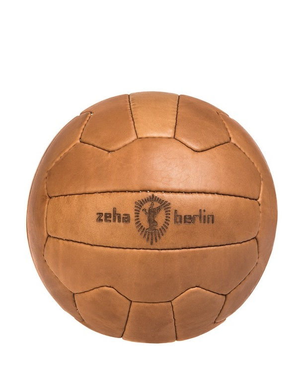 ZEHA BERLIN Accessories Zeha leather ball cow hide leather Unisex brown