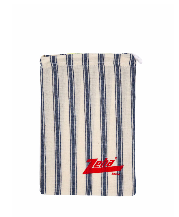 ZEHA BERLIN Extras care product pouch blue Unisex blue / white
