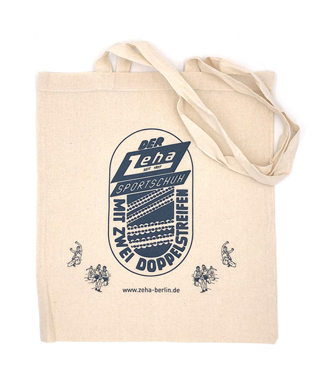 ZEHA BERLIN Extras Cotton bag - Zeha logo Unisex cream
