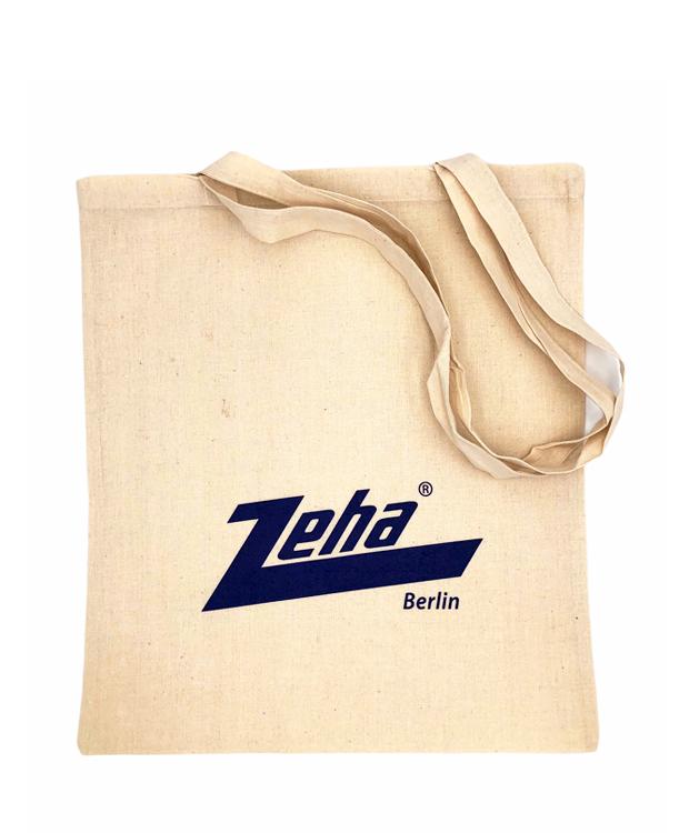 ZEHA BERLIN Zubehör Stofftasche - Streetware Logo blau Unisex cremeweiß