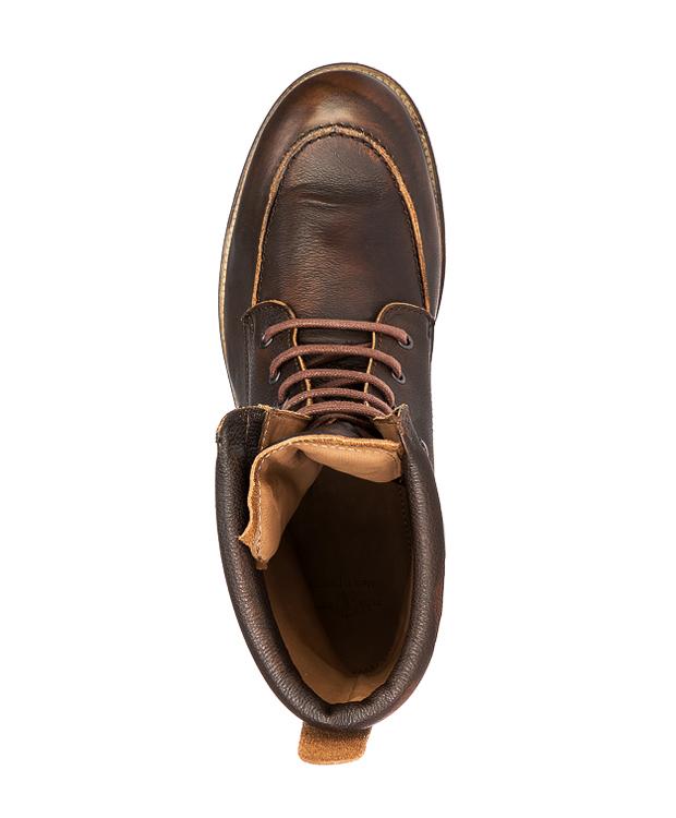 Zeha Berlin Herrenschuhe Boots 458.087 Belfast Curry